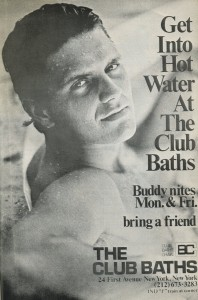 CLUB BATHS AD photo