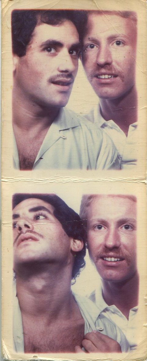 Old gay men boy threesome
