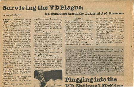 VD PLAGUE 1979 A